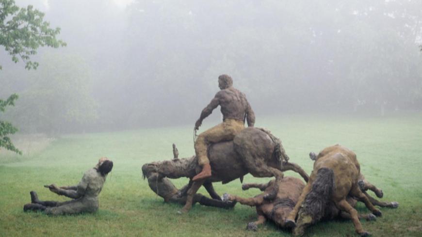 Hautes-Alpes : l'œuvre monumentale « Little bighorn » accueillie à Mont-Dauphin