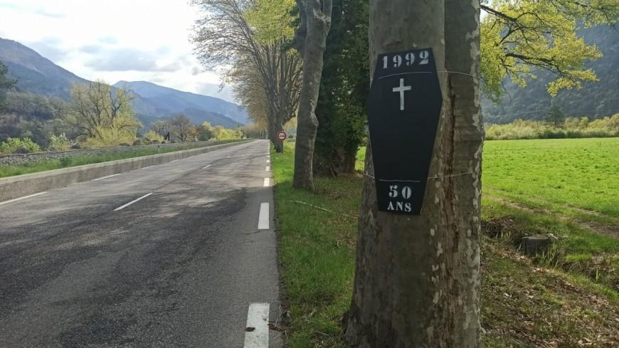 Alpes de Haute-Provence : une route aux trop nombreuses victimes à Entrevaux