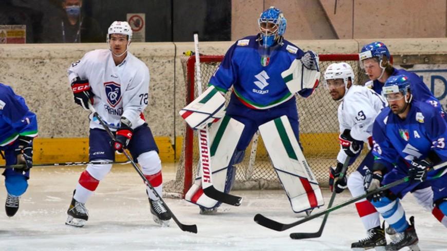 Hautes-Alpes : la revanche des Bleus en hockey sur glace