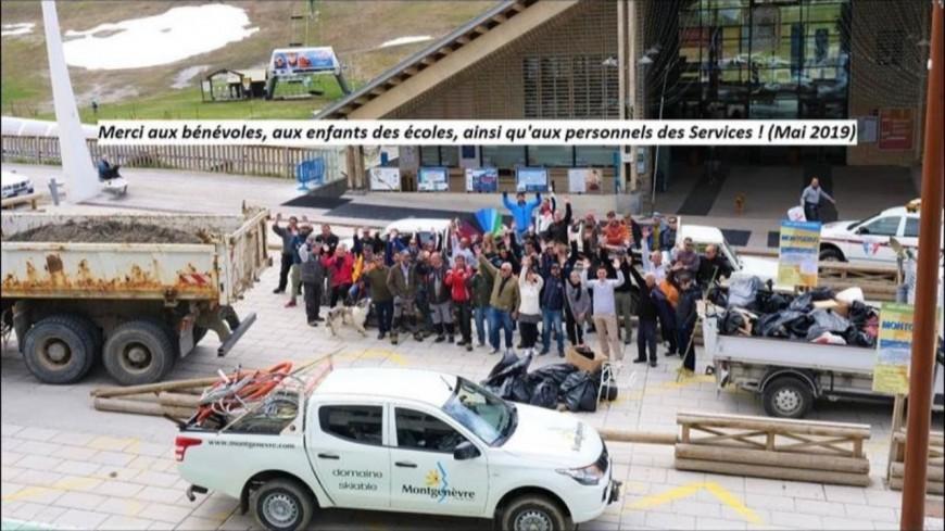Hautes-Alpes : journée citoyenne de propreté de Montgenèvre