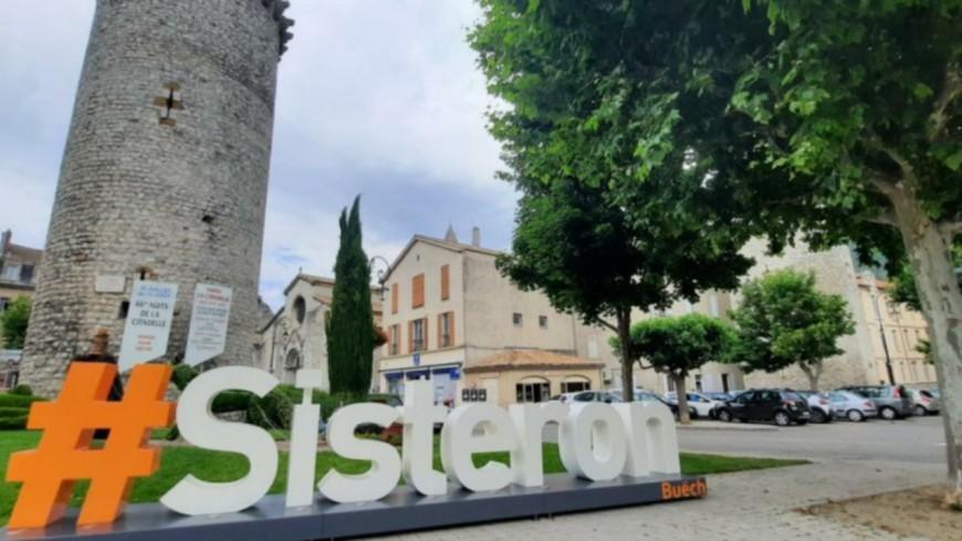 Alpes de Haute-Provence : Sisteron a désormais ses lettres géantes