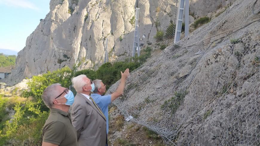 Haute-Provence : les travaux de sécurisation du rocher de la Baume sont terminés