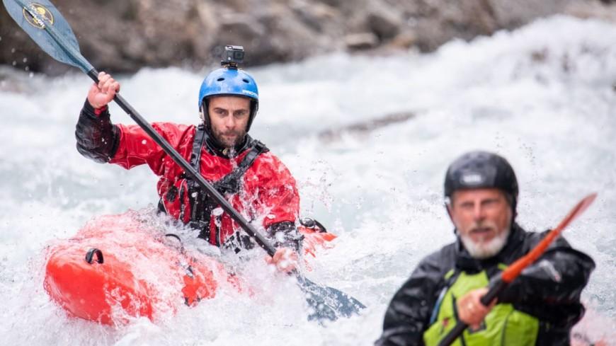 Hautes-Alpes : les kayakistes se donnent rendez-vous à l'Argentière