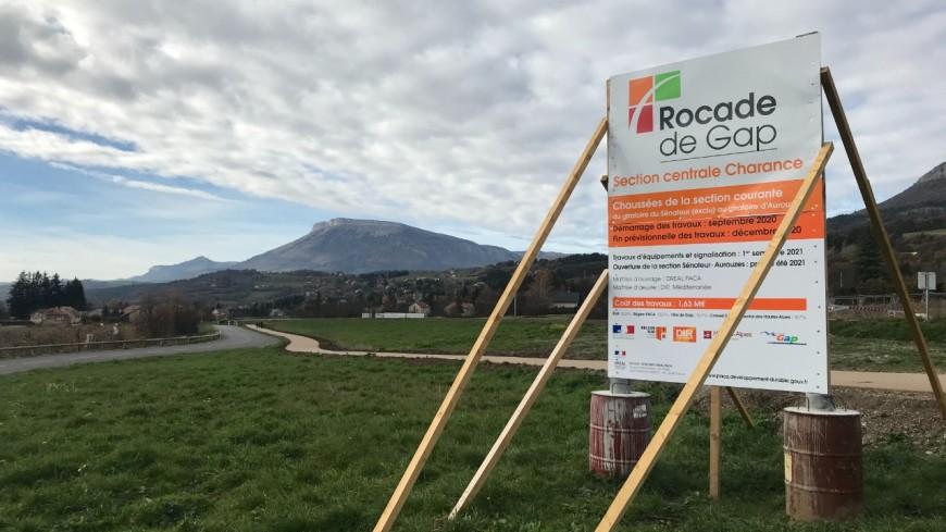 Hautes-Alpes : mise en service du tronçon Sénateur-Aurouze de la Rocade de Gap