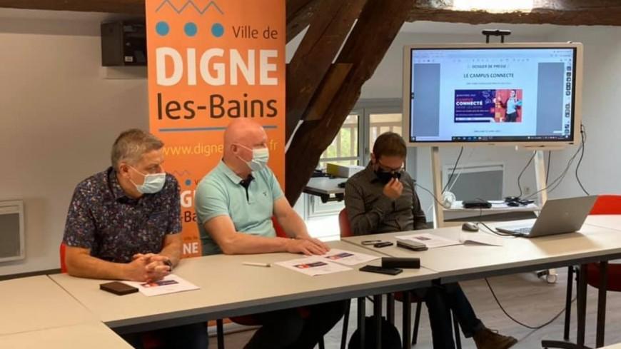 Alpes de Haute-Provence : un site internet renouvelé pour le Campus connecté de Digne les Bains