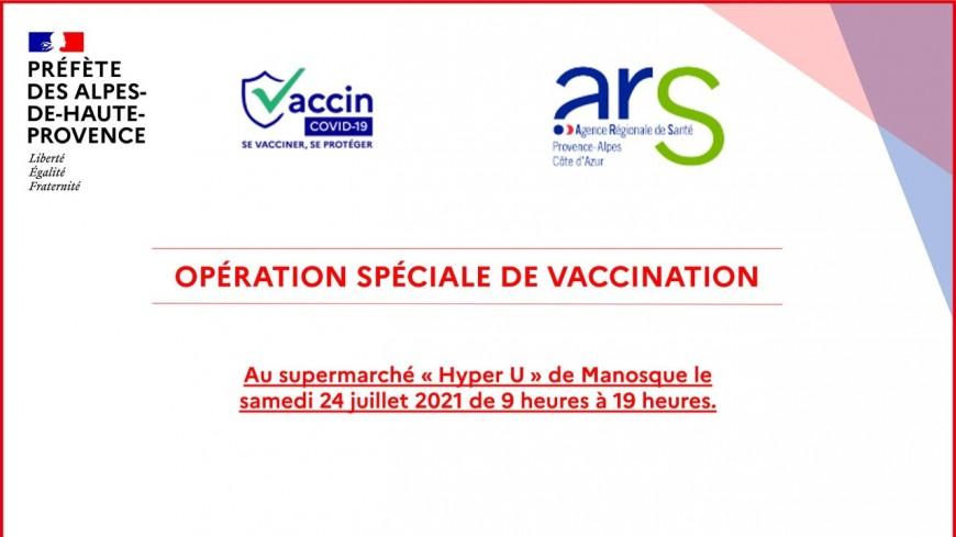 Alpes de Haute-Provence : opération de vaccination éphémère à Manosque