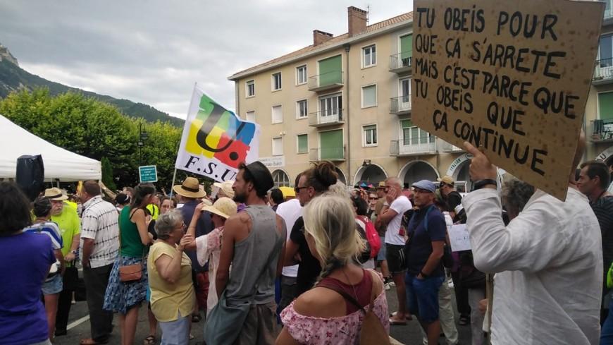 Alpes du Sud : un weekend rythmé par les manifestation anti-pass sanitaire