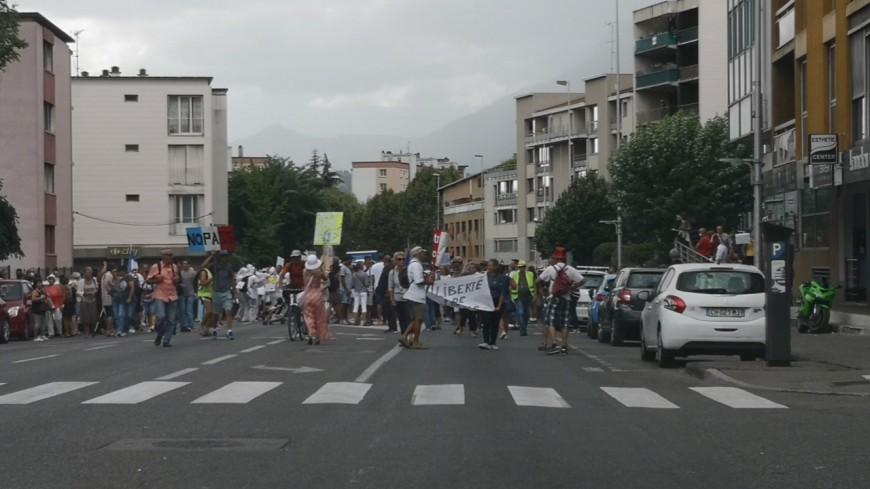 Alpes du Sud : les manifestations se poursuivent avec toujours autant d'ardeur