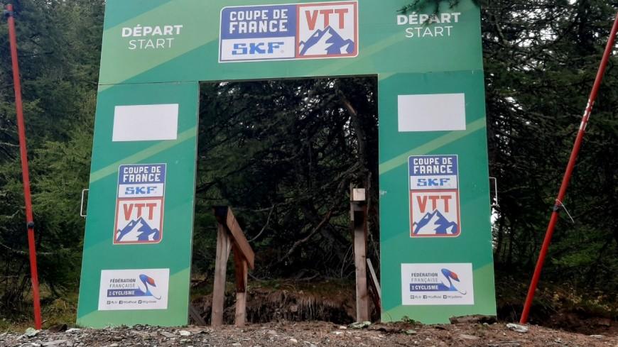 Hautes-Alpes : une finale en apothéose de la Coupe de France de VTT de descente aux Orres