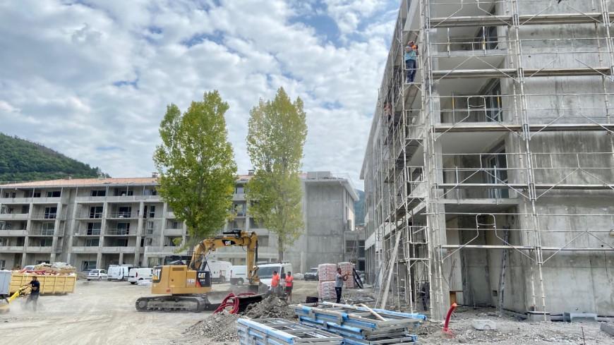 Alpes de Haute-Provence : les travaux de la résidence Domitys à Digne les Bains avancent bien