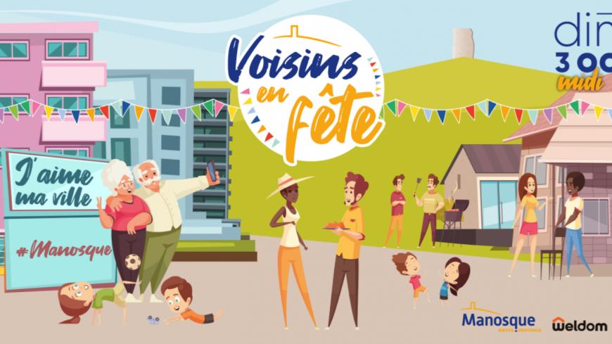 Alpes de Haute-Provence : Manosque fête les voisins