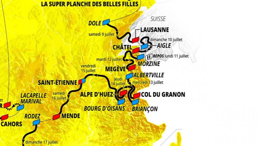 Hautes-Alpes : un feu d'artifice briançonnais sur le Tour de France 2022