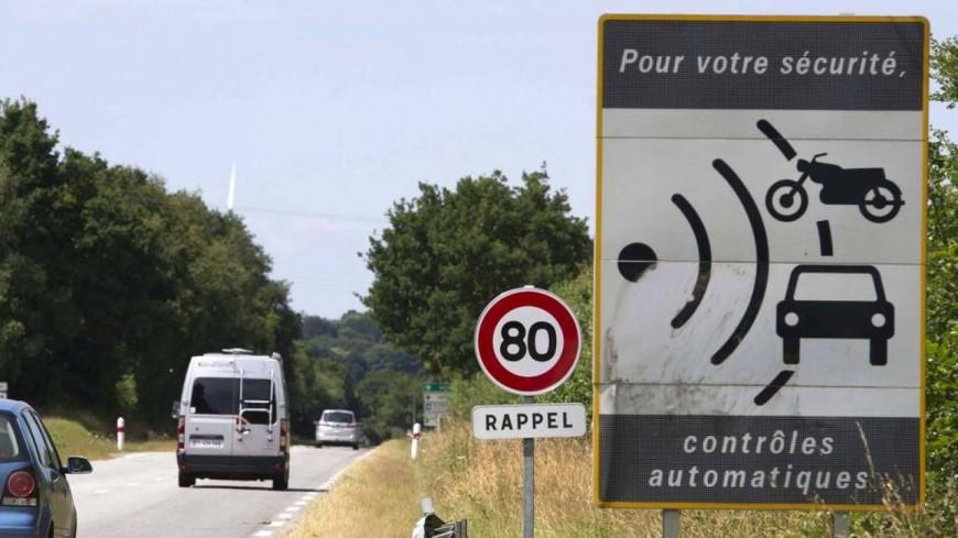 Alpes du Sud : 80 km/h, plus d'automobilistes flashés, plus de radars dégradés et fin de la tolérance en août