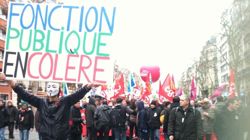 Hautes-Alpes : la Fonction Publique descend dans les rues