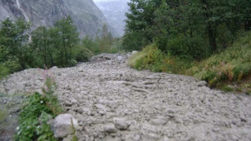 Hautes-Alpes : [MAJ] plusieurs coulées de boue dans le département