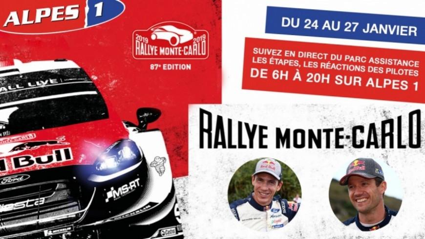 Hautes-Alpes : Sébastien Ogier sur le toit du RMC