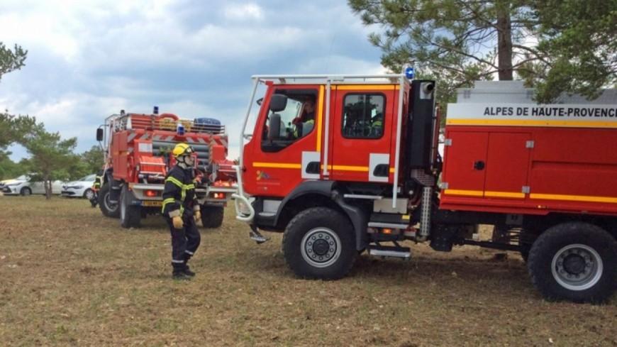 Alpes de Haute-Provence : un incendie parcourt 2 hectares à Mison