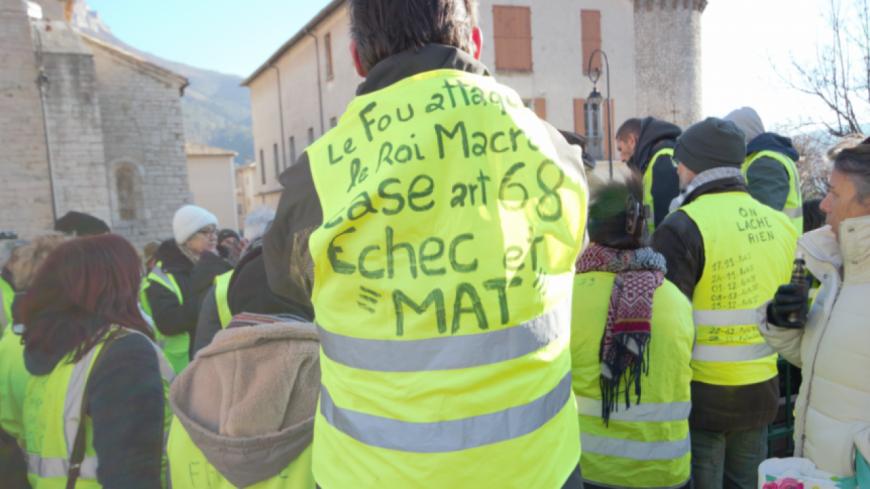 Alpes de Haute-Provence : Manosque, les gilets jaunes répondent à la lettre aux français d'E.Macron