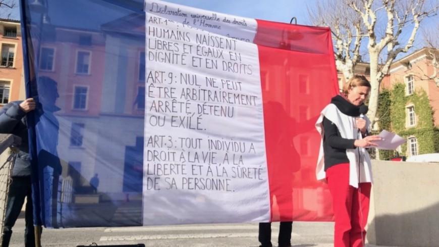 Alpes de Haute-Provence : contre la loi asile et immigration, les rassemblements se poursuivent