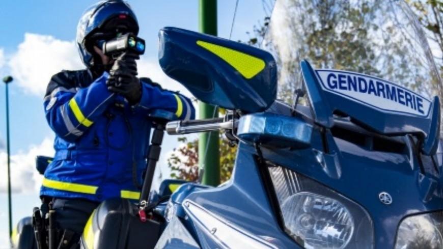 Hautes-Alpes : deux gros excès de vitesse ce week-end dans le département