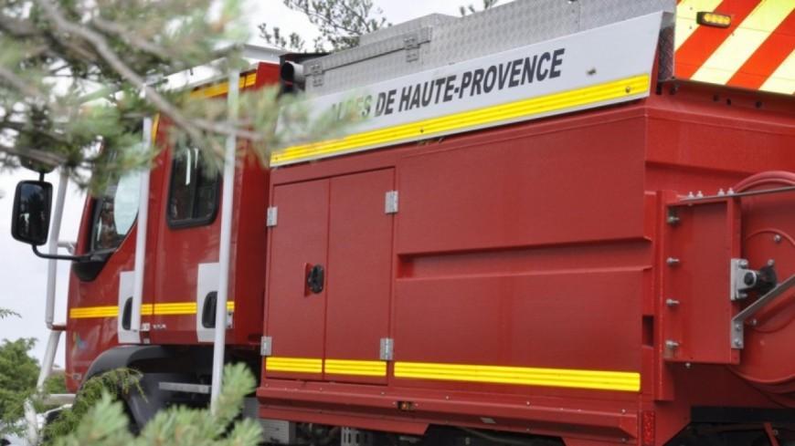 Alpes de Haute-Provence : Pierrevert, un incendie mobilise une trentaine de pompiers