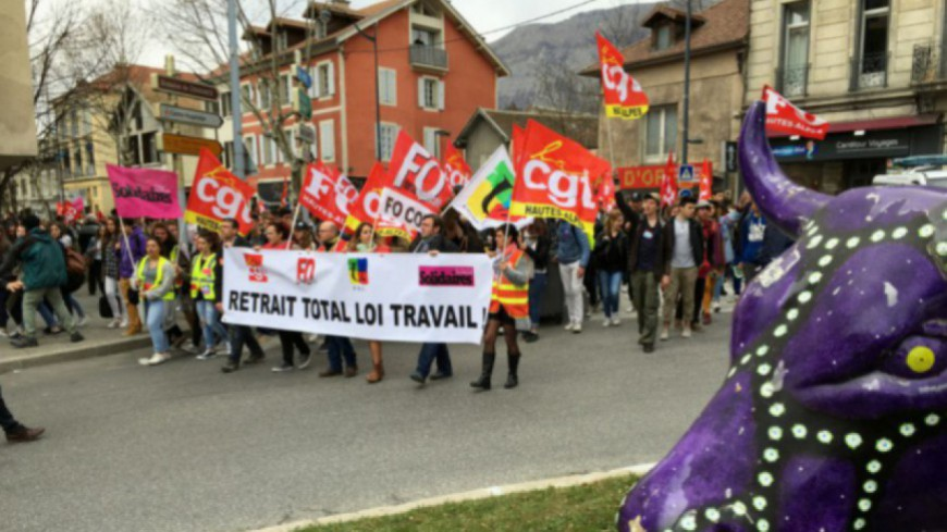 Alpes du Sud : journée nationale contre la Loi Travail