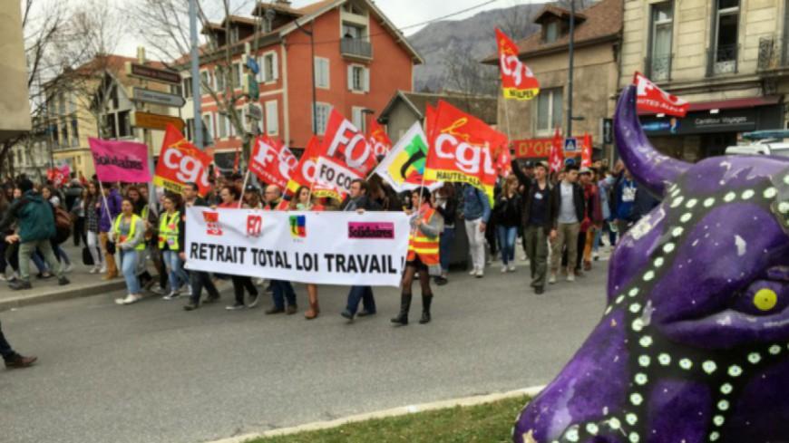 Alpes du Sud : appel à l'intensification de la lutte contre la Loi Travail ce jeudi