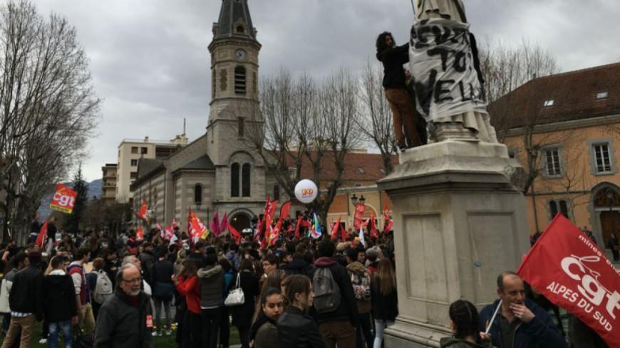 Hautes-Alpes : une nouvelle manifestation contre la Loi Travail