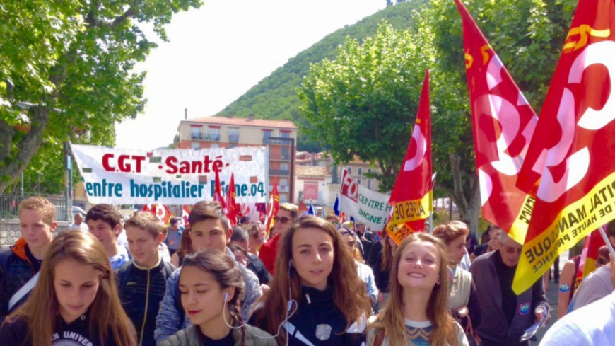 Alpes du Sud : manifestation et votation citoyenne contre la Loi Travail