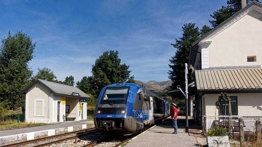 Hautes-Alpes : révolte des usagers en gare de Lus-la-Croix-Haute