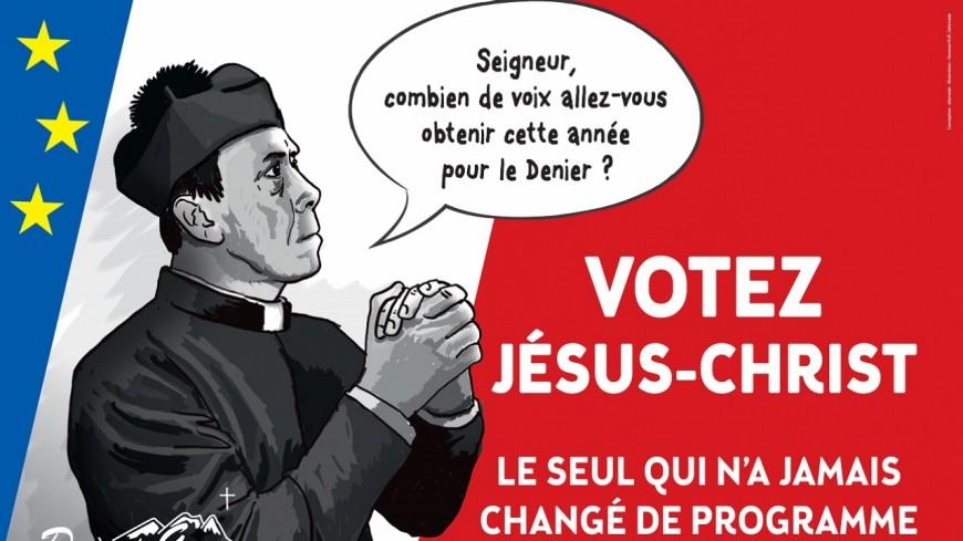 Hautes-Alpes : la campagne du denier du diocèse de Gap et d'Embrun interdite d'affichage