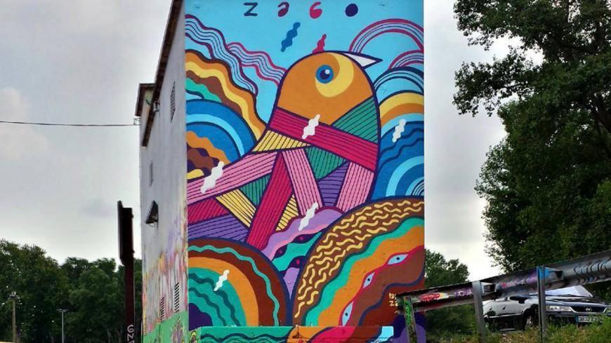 Hautes-Alpes : première édition du Festival d'Art Urbain à Sisteron