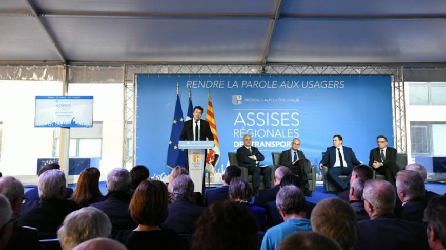 Région PACA : C.Estosi attend des réponses de la  SNCF et K.Berger attend des réponses pour les Alpes du Sud