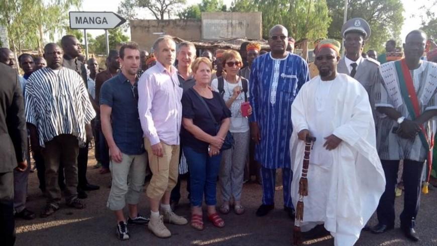 Hautes-Alpes : des Embrunais rencontrent le président du Burkina Faso