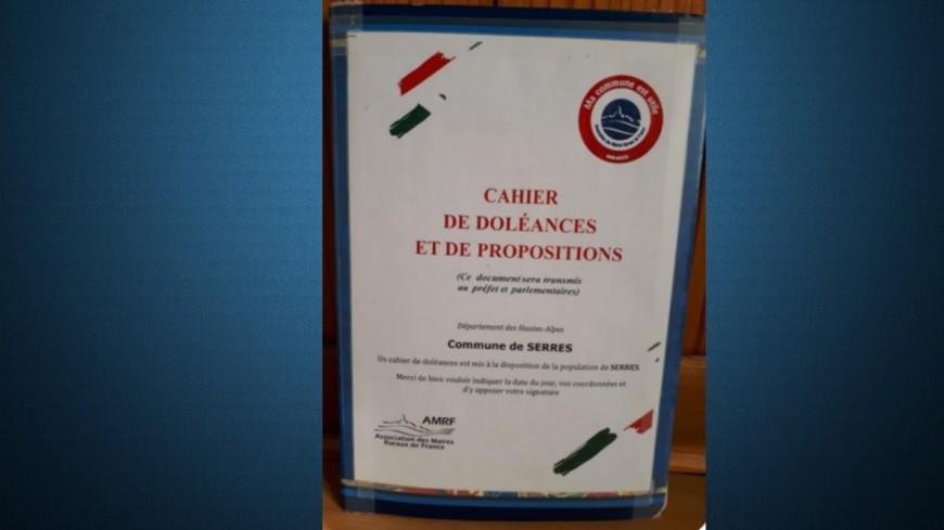 Hautes-Alpes : Tallard et Serres ont désormais un cahier de doléances