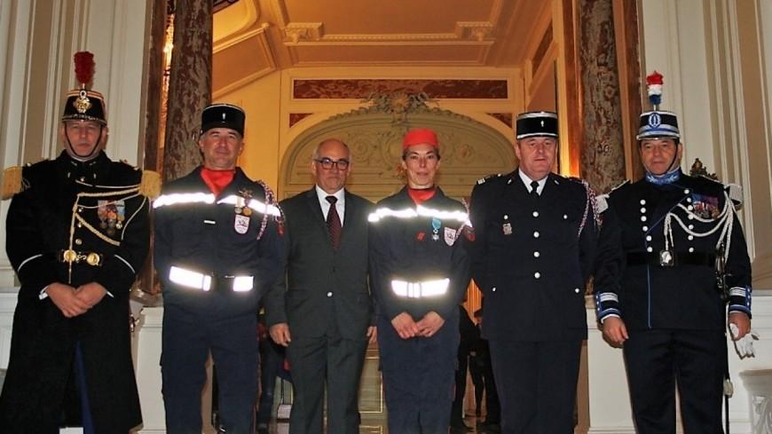 Hautes-Alpes : pompier du département, elle est nommée au grade de Chevalier de l'Ordre national du Mérite
