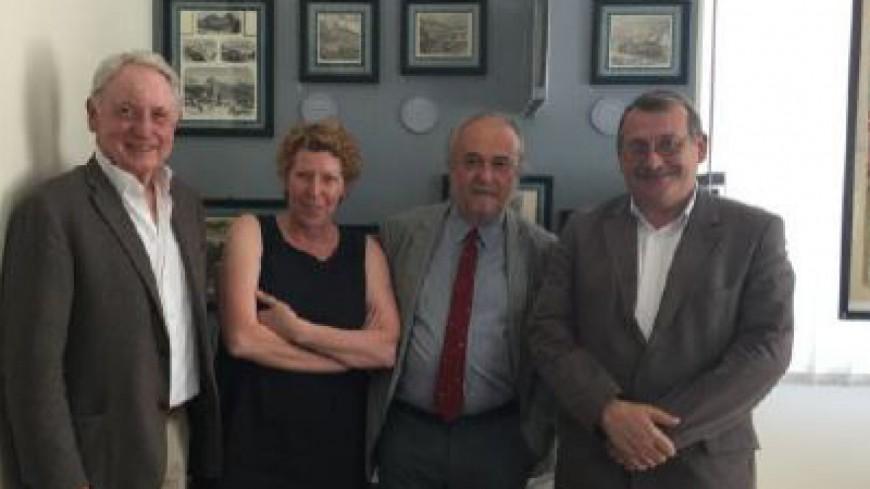 Alpes du Sud : Joël Giraud et Gérard Fromm ont rencontré les responsables du projet Lyon Turin