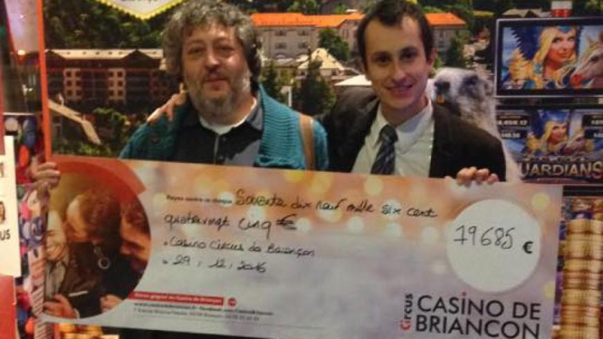 Hautes-Alpes : casino de Briançon, un joueur termine l'année 2016 avec 79.685 euros en poche