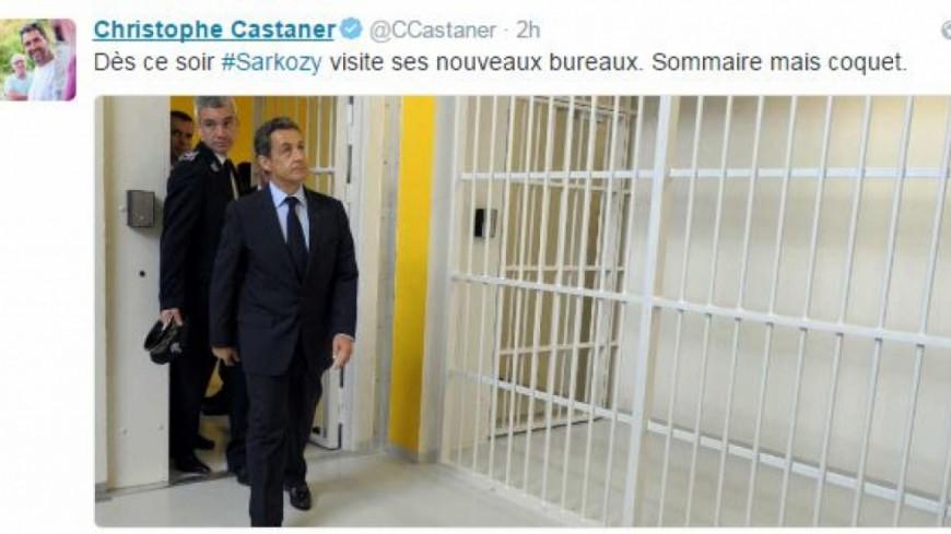 Primaire à droite : un député PS imagine Nicolas Sarkozy en prison
