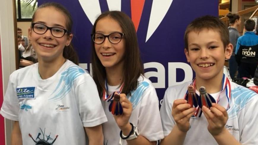 Hautes-Alpes: trois médailles pour le badminton briançonnais