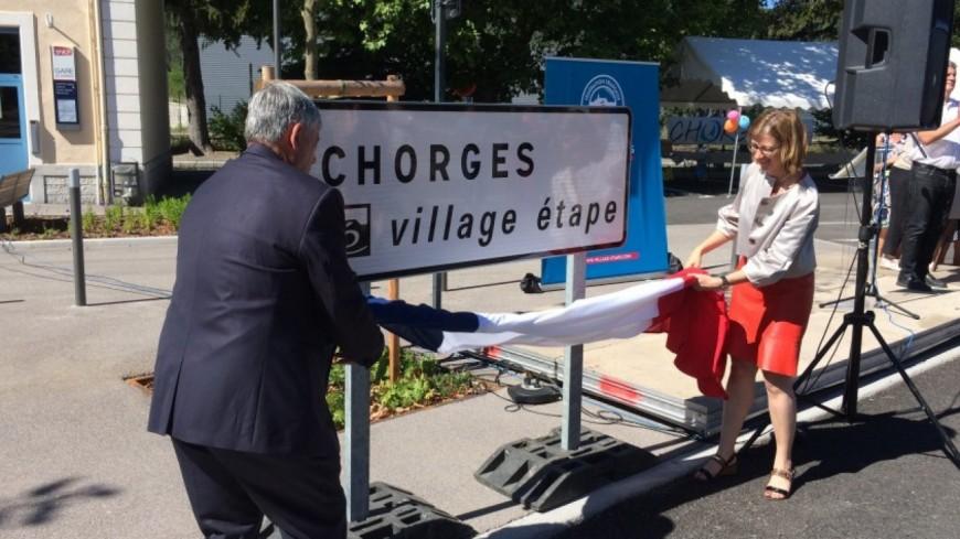 """Hautes-Alpes : Chorges inaugure son label """"Village étape"""""""
