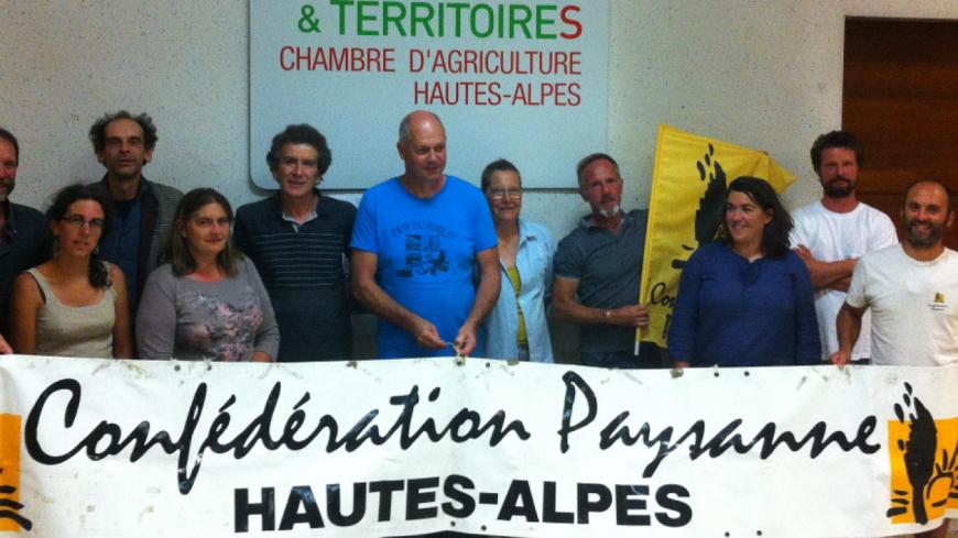 Hautes-Alpes : élections professionnelles, la Confédération Paysanne s'organise