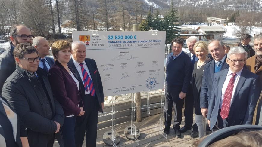 Alpes du Sud : un contrat de 100 millions d'euros pour « les stations de demain » signé par C.Estrosi