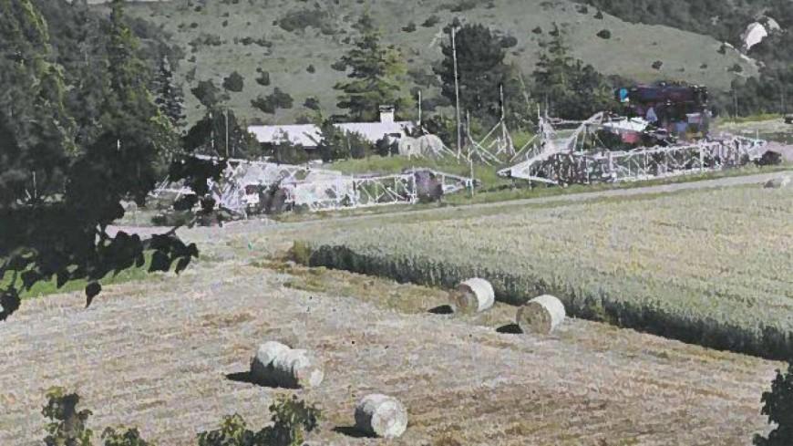 Hautes-Alpes : des riverains d'Embrun surpris par un chantier RTE