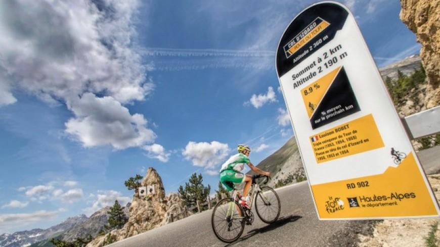 Hautes-Alpes : cyclistes, chronométrez-vous gratuitement sur les cols du Guillestrois-Queyras