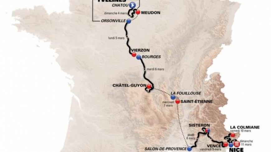 Alpes de Haute-Provence: Sisteron, ville étape du Paris-Nice 2018