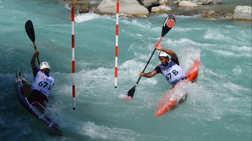 Hautes-Alpes : championnats de France de descente sprint à l'Argentière-la-Bessée