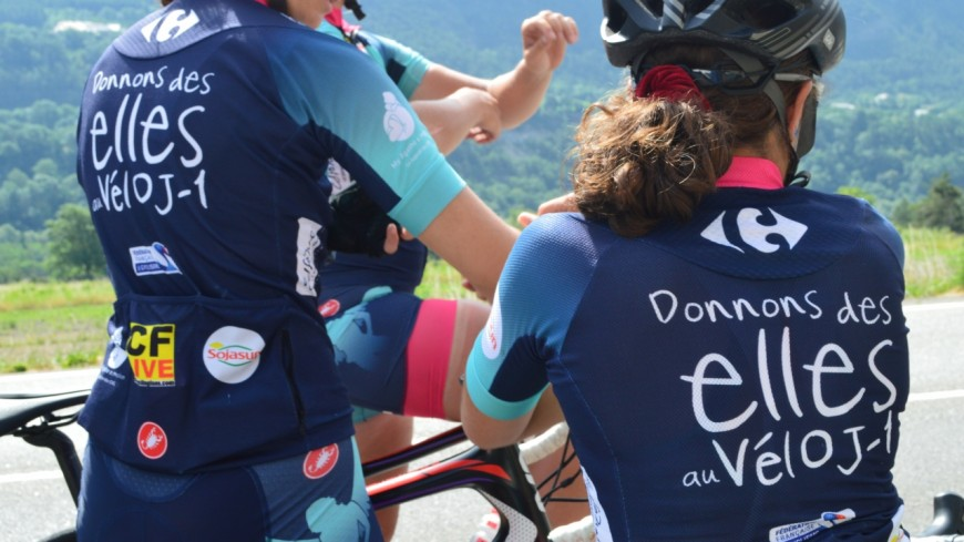"""Hautes-Alpes : l'association """"Donnons des Elles"""" au vélo a fait la 18e étape de « son » Tour de France"""