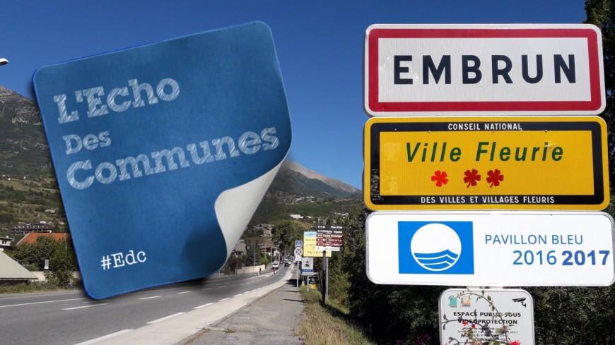 Hautes-Alpes : requalification des entrées du centre-ville d'Embrun pour 2018