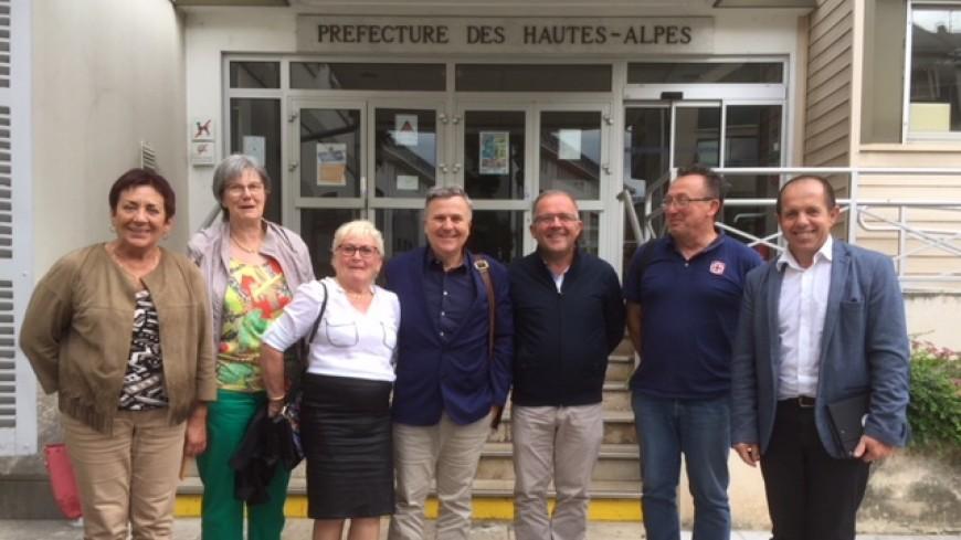 Hautes-Alpes : fermeture de la trésorerie de Serres, les élus rencontrent la préfète